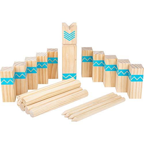 small foot 12036 Wikingerspiel Kubb Active, aus FSC 100%-zertifiziertem Holz, Outdoorspiel für die ganze Familie Spielzeug