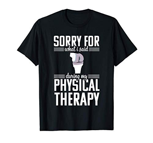 Knee Replacement Funny Therapy Surgery Recovery Gift T-Shirt