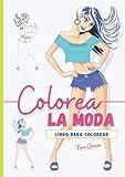 Libro Para Colorear Para Chicas: ¡ Este hermoso libro de moda con diseños TopModel para niñas es una gran idea de regalo para niños ! Más de 50 ... años y de 8 a 12 años (Edición Fluo Paradise)