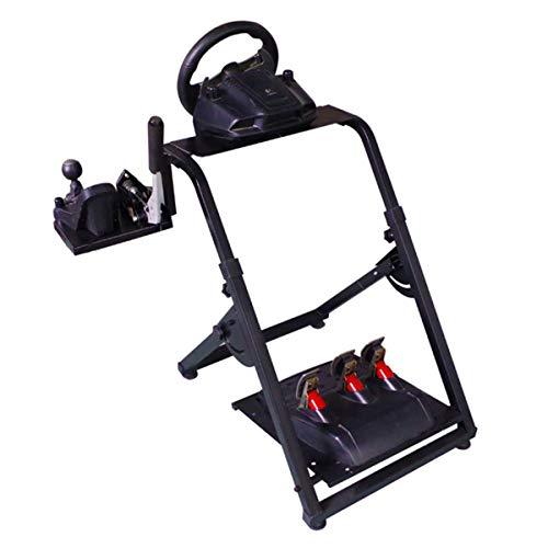 Dishot - Soporte de volante ajustable para volante Logitech G29, con pedales y soporte de palanca de cambios