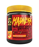Mutant Madness - Redefines the Pre-Workout Experience and Takes it to a Whole New Extreme Level, Engineered Exclusively for High Intensity Workouts, 225g – Peach Mango