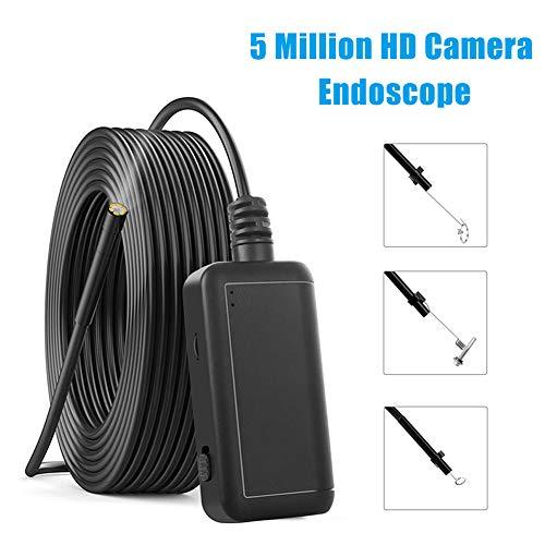 Parka Wireless Endoskop, IP67 wasserdichte WiFi-Endoskopinspektion 2,0 Megapixel HD-Schlangenkamera für Android und iOS Smartphone, iPhone, Samsung, Tablet - Schwarz