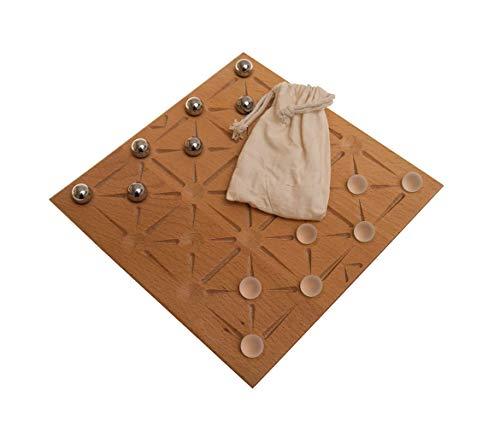Arrows (Roger B. Eggleton, USA und Aviezri S. Fraenkel, Israel), Familienspiel, Brettspiel, Gesellschaftsspiel aus Holz