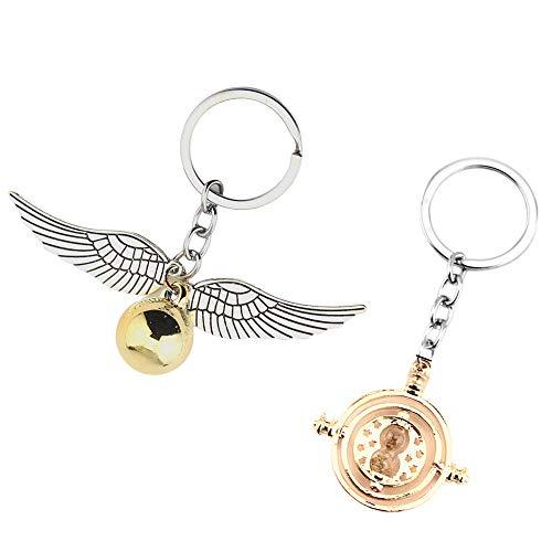 Golden Snitsh giratiem of Hermon porte-clés Girattime porte-clés Golden Snish Giratim