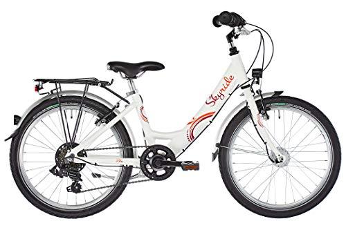 Puky 4449 - Skyride 20-6 Alu - Fahrrad weiß