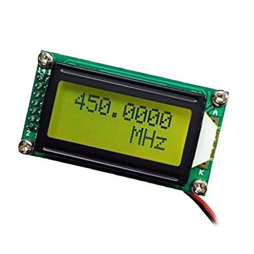Digitalen Frequenzmesser 1200 MHz Frequenzzähler Tester Messung LCD-Anzeigezähler Für Amateurfunk Plj-0802-c