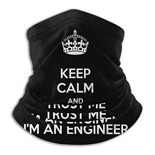 XXWKer Halstuch/Kopftuch, Trust Me I'm an Engineer Unisex Fleece Neck Warmer Ear Warmer Headband & Face Cold Weather Gear One Size