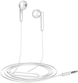 Original HUAWEI Honor Earphone AM115 Wired Half In-ear Headset 3.5mm Jack With Microphone Volume Control For Huawei P10 P2...