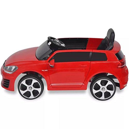 RC Kinderauto kaufen Kinderauto Bild 1: SENLUOWX Kinderauto Elektroauto VW Golf GTI 7 rot 12 V Kinderfahrzeug Kinderauto mit Fernbedienung*