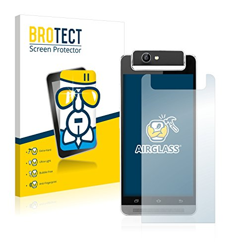 BROTECT Panzerglas Schutzfolie kompatibel mit Timmy M9 - AirGlass, 9H Härte, Anti-Fingerprint, HD-Clear