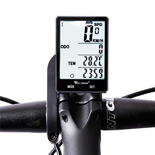 GIAO Computadora para Bicicleta, Computadora de Bicicleta inalámbrica Velocímetro Cuentakilómetros Bicicleta a...
