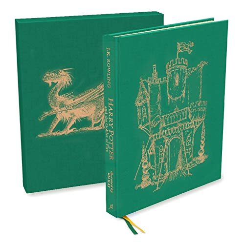 H. P. And The Globet Of Fire - Deluxe Illustrated Edition: Deluxe Illustrated Slipcase Edition: 04 (Harry Potter)