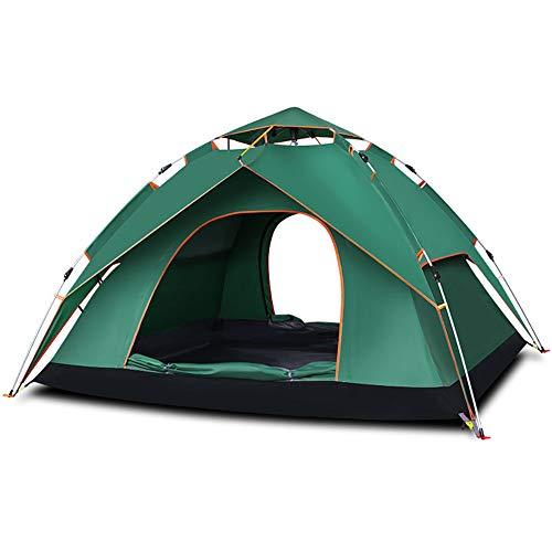 XIAMIMI Neue Zelte 3-4 Personen gegen Gewitter Zelte Outdoor Double Verdickung automatische Zelte