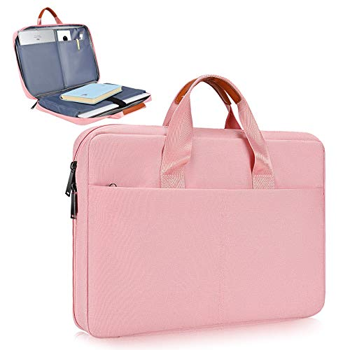 11.6-12.9 Inch Laptop Sleeve Case for Acer Chromebook R11/HP Stream/Lenovo C330 Chromebook/ASUS Chromebook C202/Lenovo C330 Chromebook 11.6/Lenovo 130S 11.6 Sleeve Case for Women (Pink)