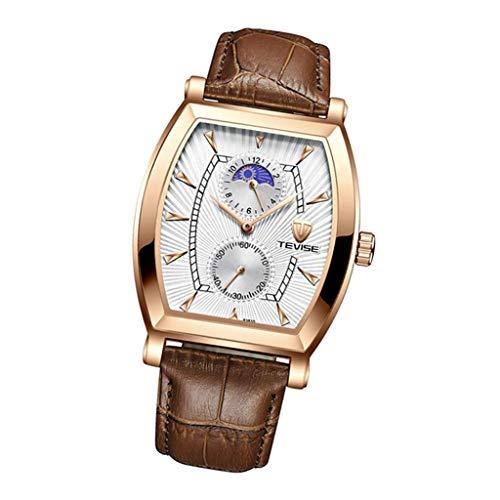 Colcolo Relojes de Pulsera Reloj de Cuarzo, Reloj de Mujer, Resistente Al Agua - Blanco 2