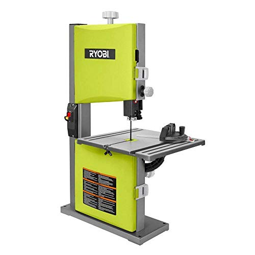 Ryobi ZRBS904G 2.5 Amp 9 in. Portable Band Saw (Green) (Renewed)