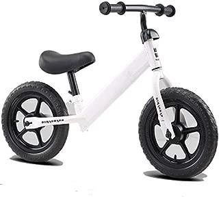 Peteg Balance para Niños De 2-6 Años, Andador, Scooter para Niños, Neumático De Bicicleta Sin Pedales,Blanco