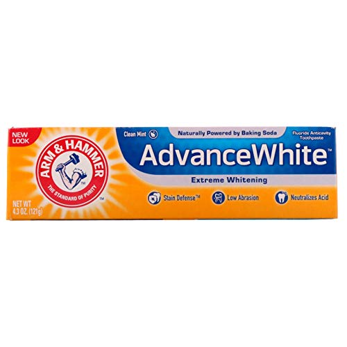 Arm & Hammer advance white baking soda and peroxide tartar control toothpaste - 4.3 oz