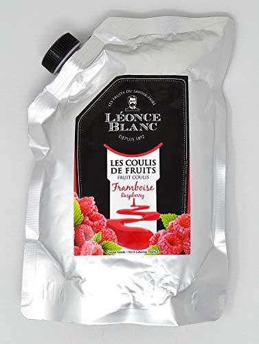 Léonce Blanc Raspberry Fruit Coulis, 1 kg