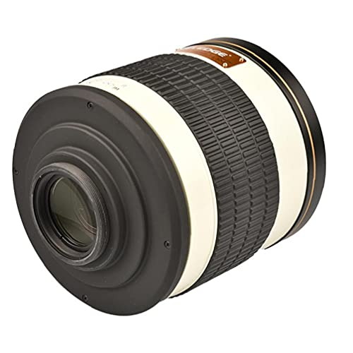 Lente de espejo de teleobjetivo de 500 mm F6.3 Compatible...