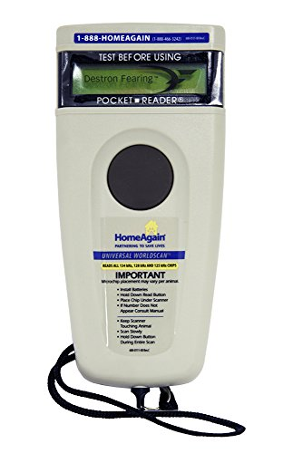%25 OFF! HomeAgain Universal Worldscan Microchip Reader