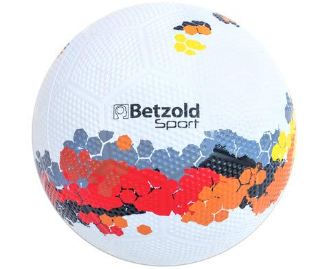 Betzold 757112 - Schulhof-Fussball, Trainings-Ball Kinder Fußball Gummiball