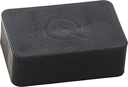 greenteQ Premium Unterlegplatten - Abstandshalter, Plättchen aus Kunststoff | hohe Tragkraft | 25 Stück 40x60x20mm schwarz