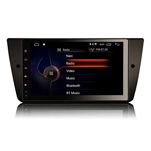 Erisin 9 pollici Android 10 Autoradio per BMW Serie 3 E90 E91 E92 E93 Supporto GPS Sat Nav Radio Carplay 4G DSP Bluetooth Wifi RDS DAB+ TPMS Mirror Link