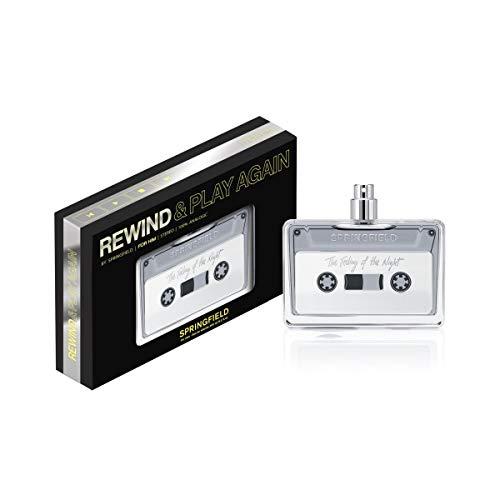 Springfield Rewind Black V.100, Negro, Estándar