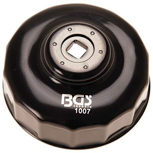 BGS 1007 | Ölfilterschlüssel | 14-kant | Ø 84 mm, schwarz lackiert