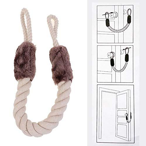 LGYLucky Tope para Puerta, Cuerda de algodón con Nudo de