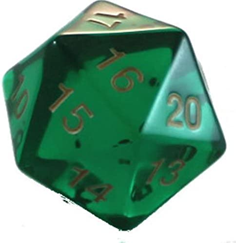 más vendido Emerald D20 Count Down Large 55mm (1) by by by Koplow Games  ahorre 60% de descuento