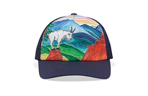 Sunday Afternoons Kids & Baby Kids Artist Series Trucker Cap, Mountain Goat, One Size