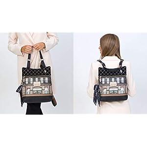 41Xe+2bxjkL. SS300  - Anekke Original mochila estampada Le Boutique Couture