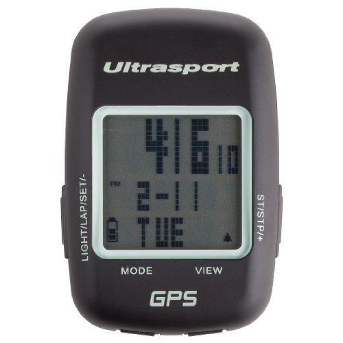 Ultrasport GPS Fahrradcomputer Navbike 400 Navegador de Ciclismo, Unisex, Negro