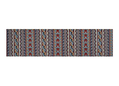 BIANCHERIAWEB Tappeto Passatoia Antiscivolo Stampa Digitale Sprinty L'Originale Dis. Intrecci 50x180 Intrecci