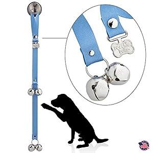 PoochieBells The Original Dog Potty Training Doorbell, Hydrangea