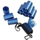 Rinboat 10 Rollos Bolsas de Basura para Perro Excrementos Mascotas con Dispensador, 350 Unidades