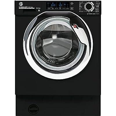 Hoover HBDOS 695TAMCBE-80 9+5Kg 1600 Rpm Integrated Washer Dryer, Black