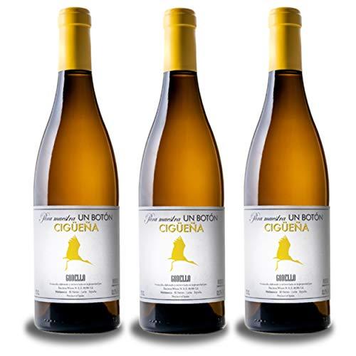 Vino del Bierzo CIGÜEÑA Godello 2019 (3bot x 75 cl.) - Godello Vino blanco joven del Bierzo