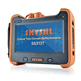 SKYSHL 1310nm +1550nm 32dB + 30dB OTDR Testing (Built-in OPM OLS VFL and Event Map) Fiber Tester SM 7inches Touch Screen Optical Time Domain Reflectometer (SC ST FC LC UPC Adapter)-SS313T-2A