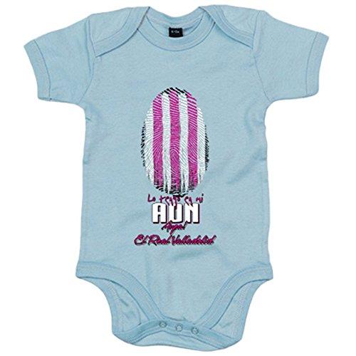 Body bebé lo tengo en mi ADN Valladolid fútbol - Celeste, 12-18 meses