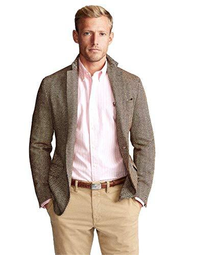 Ralph Lauren Camisa Blanca y Rosa Rayas para Hombre XL