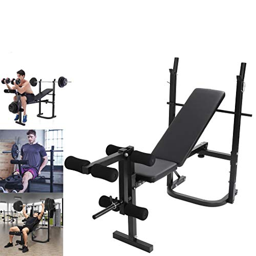 Weight Bench Barbell Lifting Press Gym Equipment Exercise Adjustable Incline Weight Bench