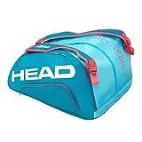 Head Tour Team Monstercombi Bolsa Tenis, Unisex-Adult, Azul/Fucsia, Largo-7 Palas de Padel