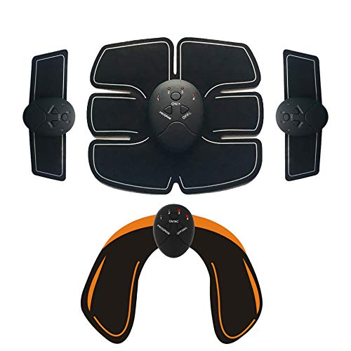 Langguth, EMS Trainingsgerät für Männer und Frauen, Bauch-Oberschenkel-Po-Trainer