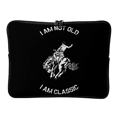 Laptop Bags I Am Not Old I Am Classic 5 Sizes Reusable - Tablet Bags Suitable for Business Trip White 10 Zoll