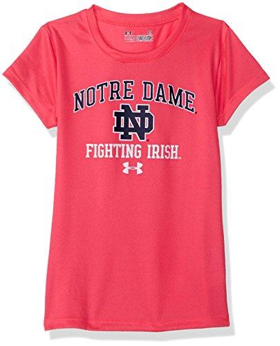 NCAA Girls Short Sleeve Tee, 3 Tall, Pinkadelic