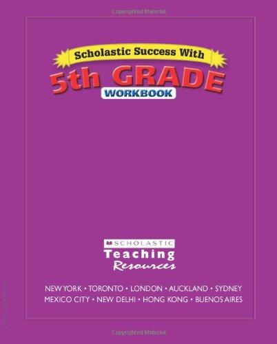 Scholastic Success With: 5th Grade Workbook