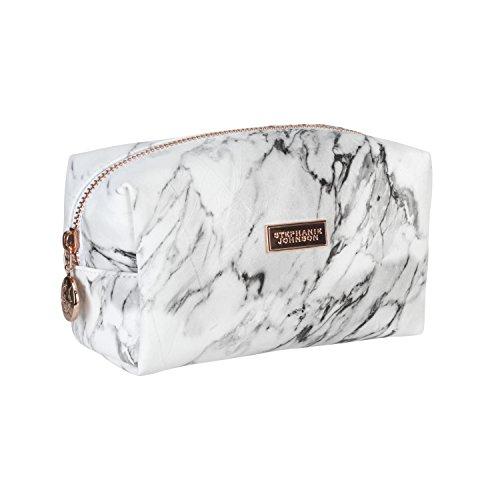 Stephanie Johnson Women's Carrara Iris Small Cosmetic Bag, Grey, One Size